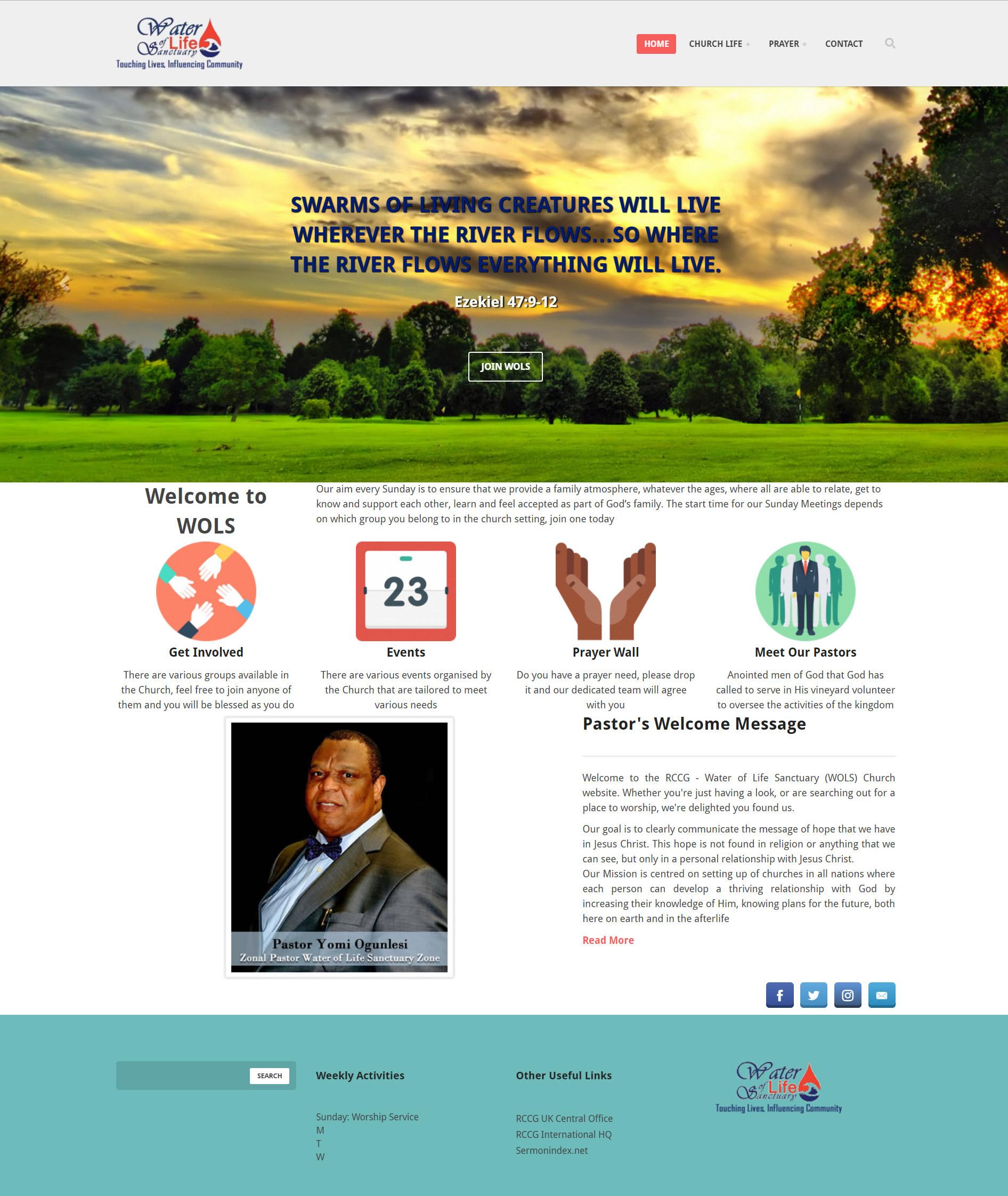 Water of Life Website