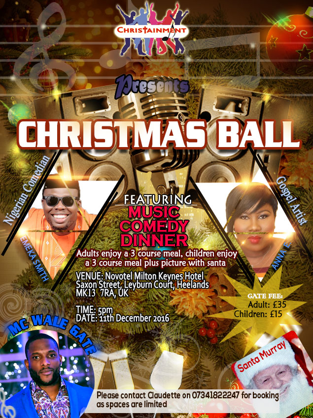 Christainment Flyer