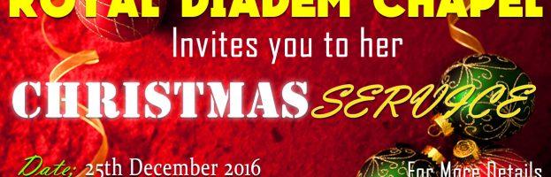 Christmas Service Flyer