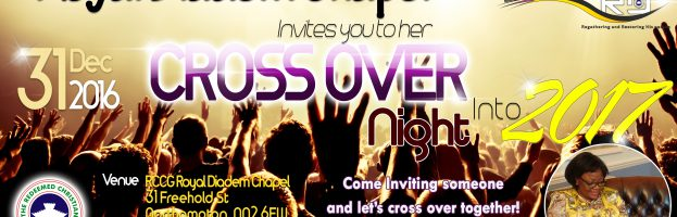 Cross Over Service Flyer