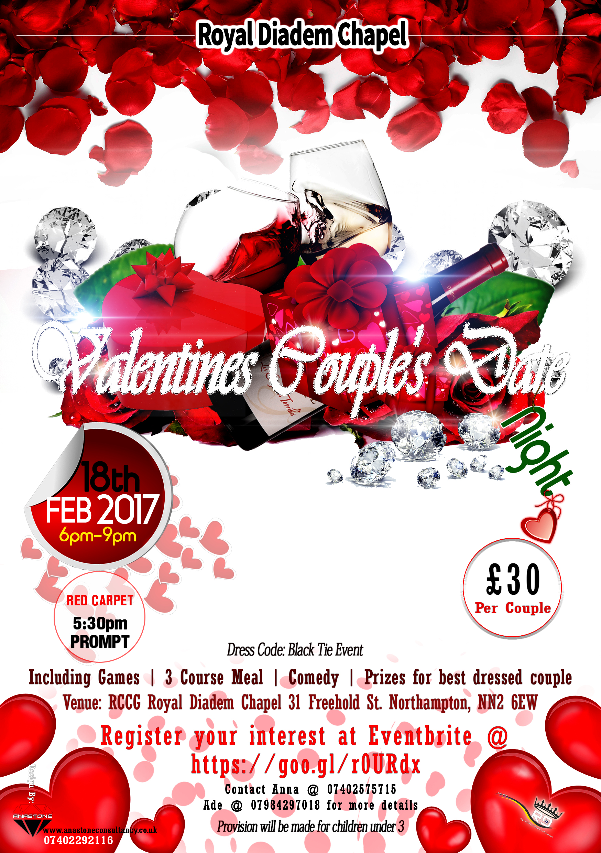 Valentine Ball Flyer